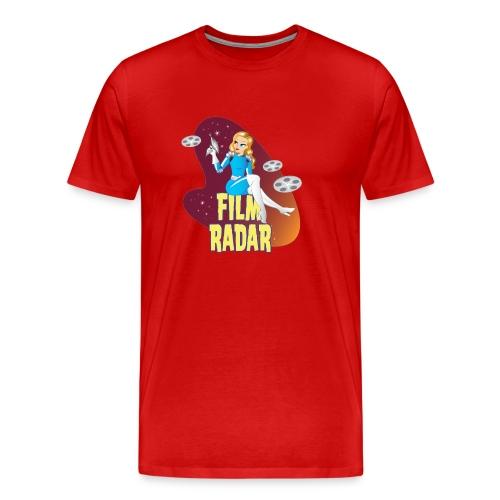 Film Radar space girl logo - Men's Premium T-Shirt