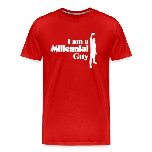 logo I Am a Millinieal Guy - Men's Premium T-Shirt