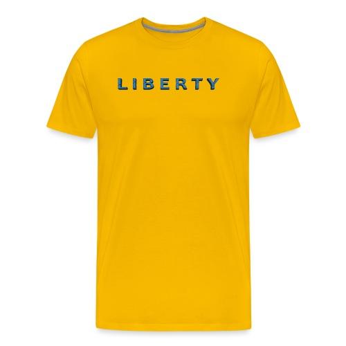 Liberty Libertarian Design - Men's Premium T-Shirt