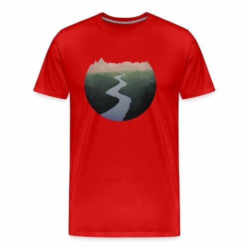 Get Lost With Me - Men's Premium T-Shirt