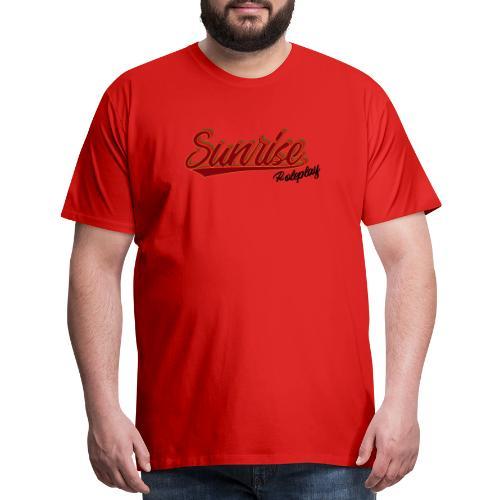 Sunrise Roleplay Logo (Black) - Men's Premium T-Shirt