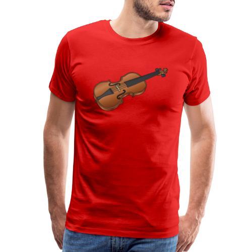 Violin, fiddle - Men's Premium T-Shirt