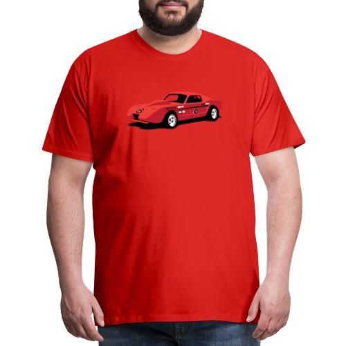 Vintage Hill Climb Race Car - Men's Premium T-Shirt