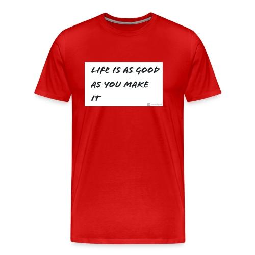 Saying - Men's Premium T-Shirt