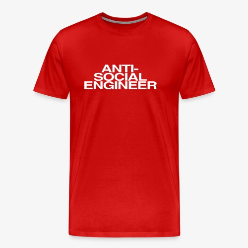 Anti-Social Engineer - Men's Premium T-Shirt