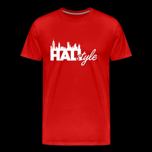 HALIStyle City Skyline - Men's Premium T-Shirt