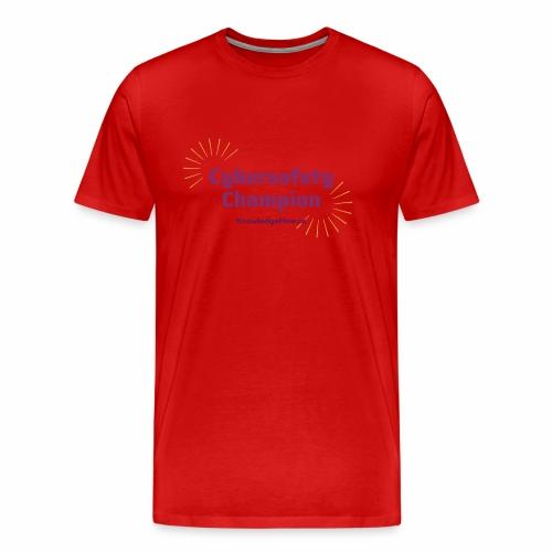 Cybersafety Champion - Men's Premium T-Shirt