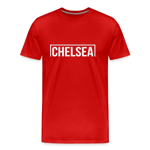 Goal Chelsea White - Men's Premium T-Shirt
