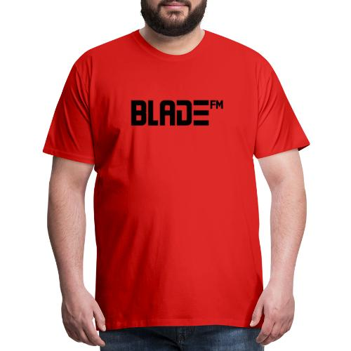 Black BladeFM Logo - Men's Premium T-Shirt