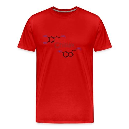 Chillax - happy chemicals (serotonin and dopamine) - Men's Premium T-Shirt