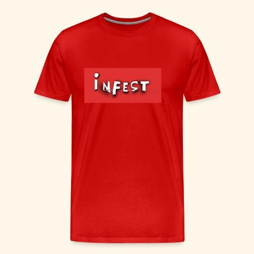 INFEST SHIRT RED - Men's Premium T-Shirt