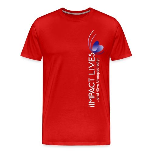 iImpact Lives..and Give Unexpectedly! - Men's Premium T-Shirt