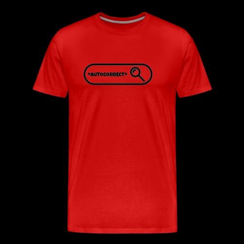 AUTOCORRECT - Men's Premium T-Shirt