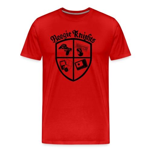 boogieknightswhite600 - Men's Premium T-Shirt