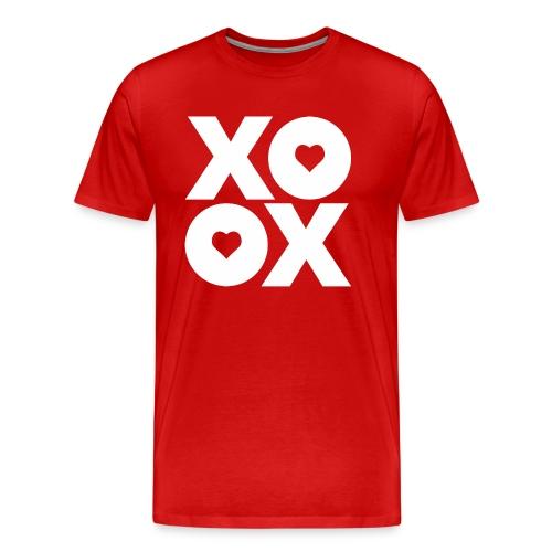 Valentine's Day XOXO - Men's Premium T-Shirt