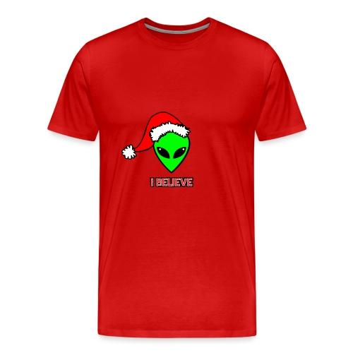 Santa Alien - T-shirt premium pour hommes