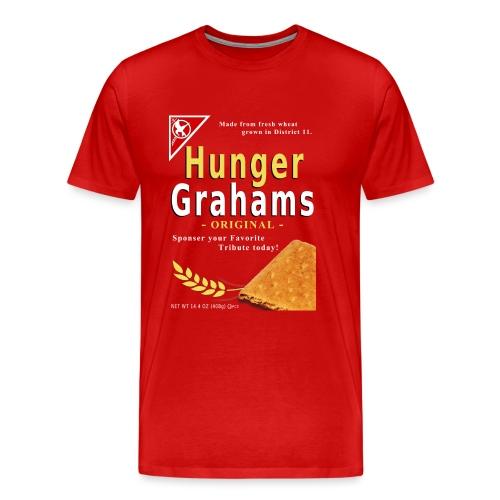 hunger grahams - Men's Premium T-Shirt