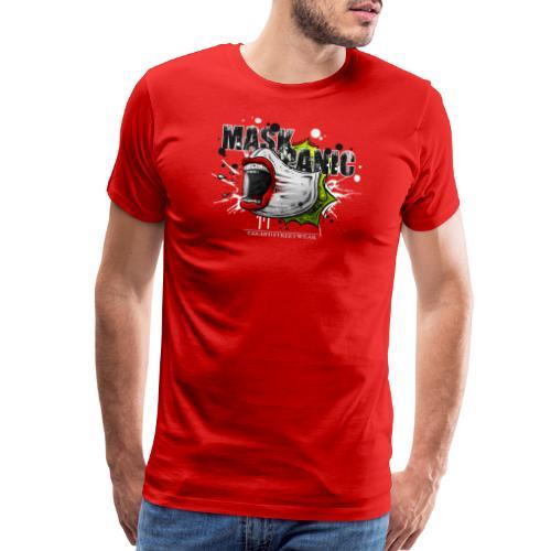 mask panic - Men's Premium T-Shirt