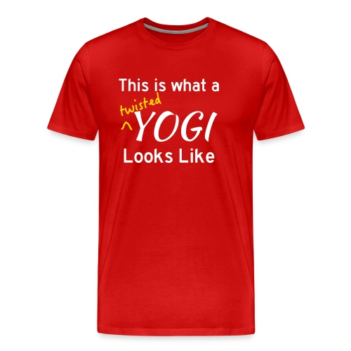This is what a twisted yo - Men's Premium T-Shirt