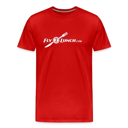 fly2lunch - Men's Premium T-Shirt