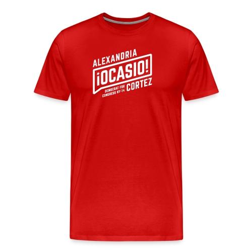 alexandria ocasio cortez art - Men's Premium T-Shirt