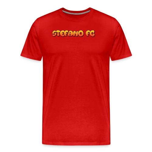 Stefano FC Text - Men's Premium T-Shirt