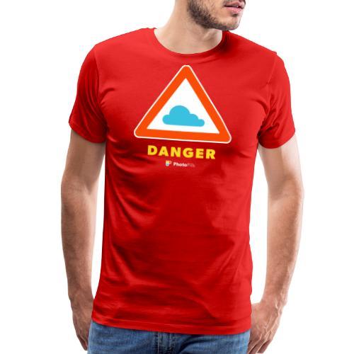 Danger Clouds! - Men's Premium T-Shirt