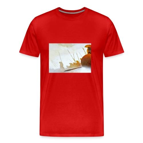 HEROIC KING FINALMug copy.jpg - Men's Premium T-Shirt