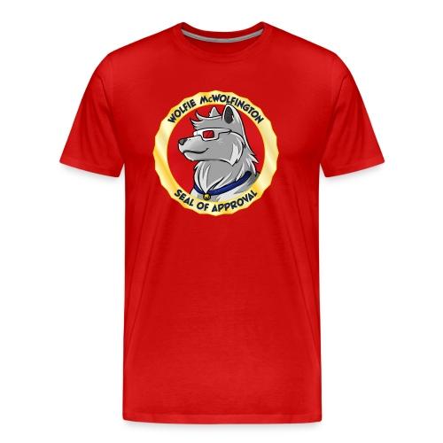 Wolfie Seal of Approval - Men's Premium T-Shirt