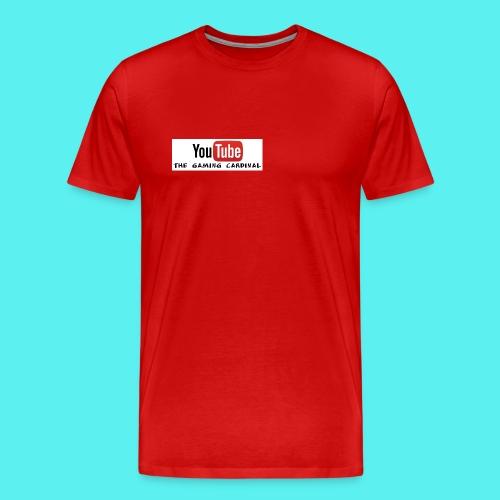 Youtube temp logo - Men's Premium T-Shirt