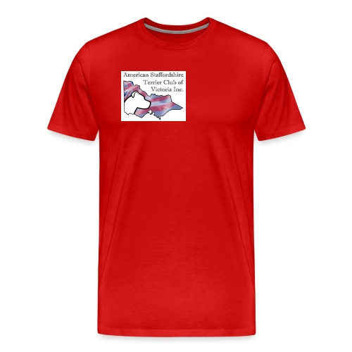 ASTCV Logo Colour on White - Men's Premium T-Shirt