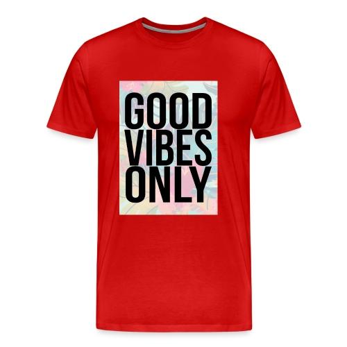 good vibes only tropical - Men's Premium T-Shirt