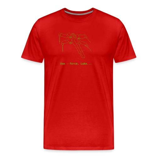 use force luke - Men's Premium T-Shirt