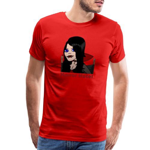 Horror Hotel - Lamia Animated - Men's Premium T-Shirt