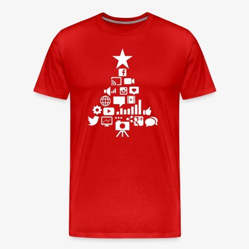 Social Blade Christmas Tr - Men's Premium T-Shirt