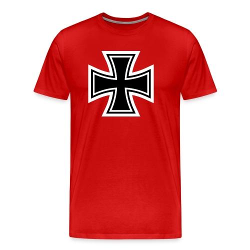 1200px German Cross svg - Men's Premium T-Shirt
