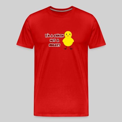 the cute chiken - Men's Premium T-Shirt