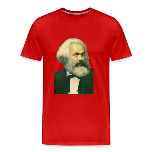 Karl Marx Portrait - Men's Premium T-Shirt