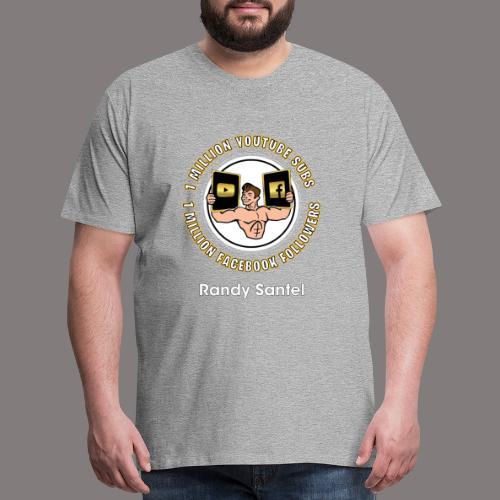 1 Million Subscribers Design - Men's Premium T-Shirt