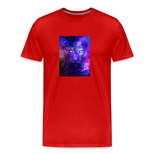 glowing leopard - Men's Premium T-Shirt
