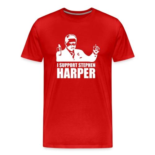 I Support Stephen Harper - Men's Premium T-Shirt