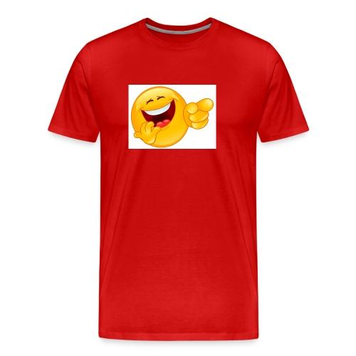 emoticon - Men's Premium T-Shirt