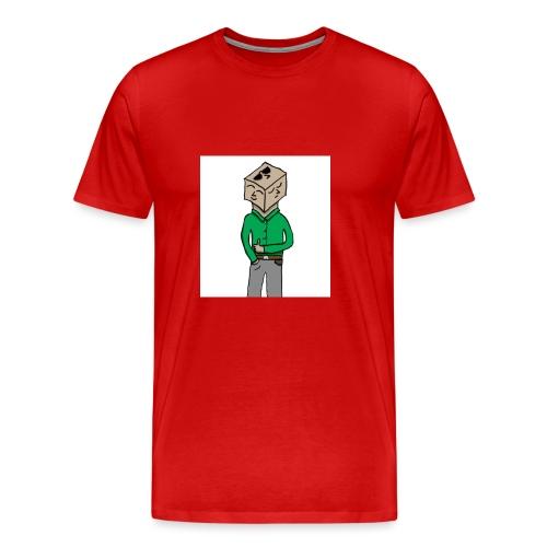 cubehead - Men's Premium T-Shirt