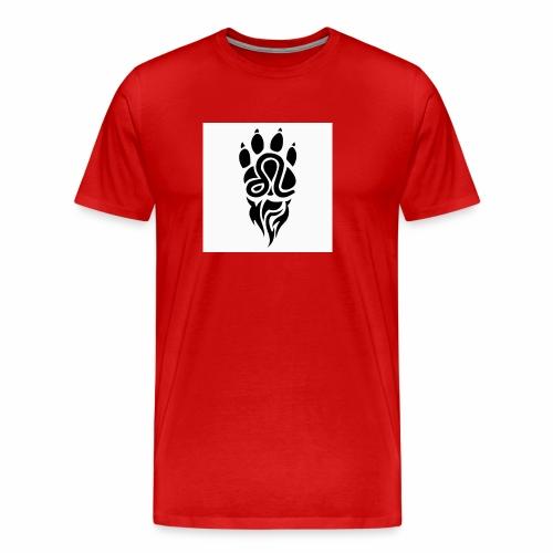 Black Leo Zodiac Sign - Men's Premium T-Shirt