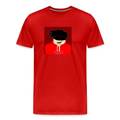 my youtube roblox GFX icon - Men's Premium T-Shirt