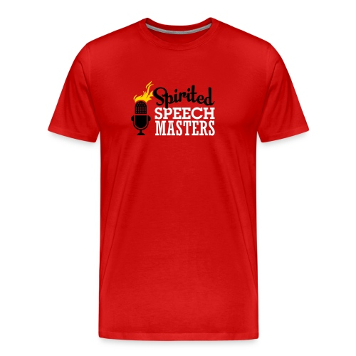 Spirited Speech Masters B - Men's Premium T-Shirt
