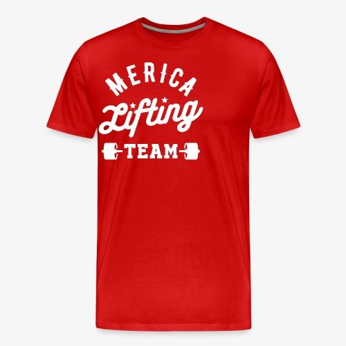 Merica Lifting Team - Men's Premium T-Shirt
