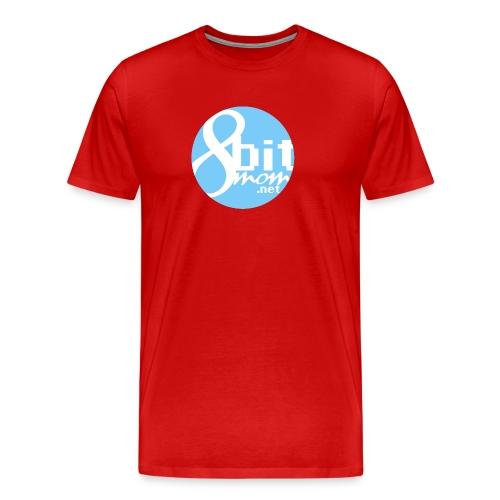 8bit logo - Men's Premium T-Shirt