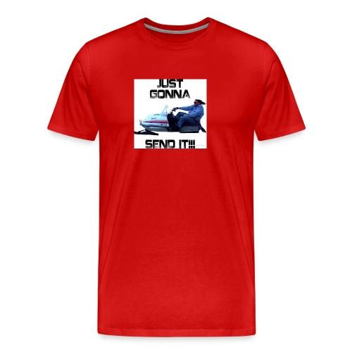 send it - Men's Premium T-Shirt