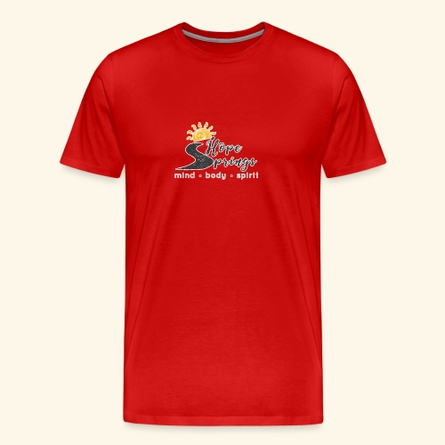 no bg hope springs - Men's Premium T-Shirt